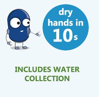 compact hand dryer jetdryer mini drys hands in 10 seconds