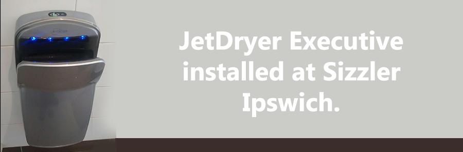 Ipswich installed hand dryer sizzler