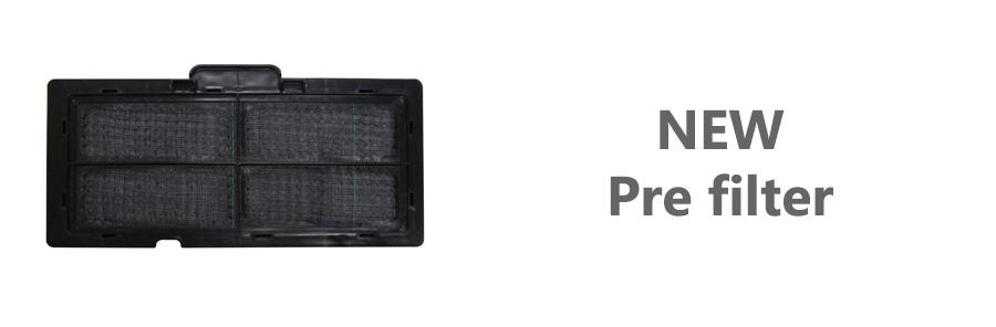 New pre filter Executive 2